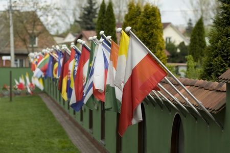 foreign nation: United flags first Polish flag
