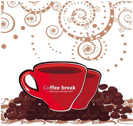 Coffee break Illustration