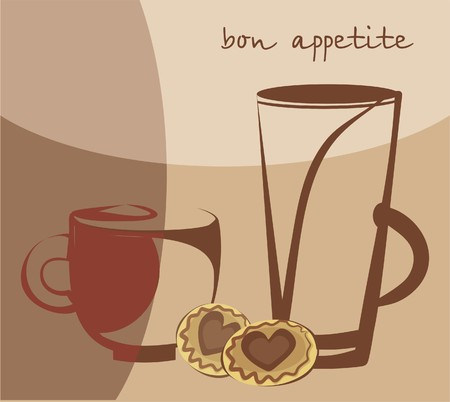 Bon appetite Vector