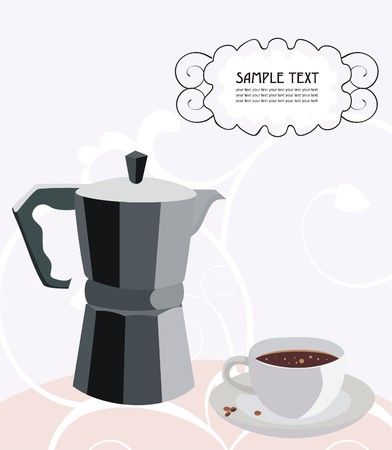 All about the coffee Stock Vector - 6405127