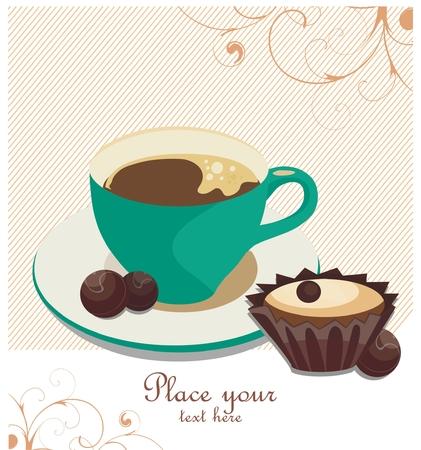 Coffee-break background