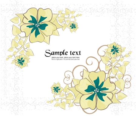 holiday frame to place your art or text Stock Vector - 8847082