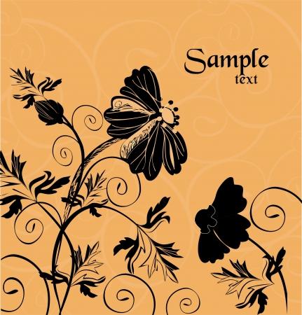 meadow wild flowers Stock Vector - 9602012