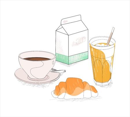 Desayuno contempor�neo