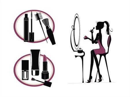 make up brush: juguetes de ni�a configurar