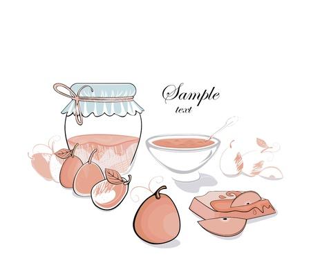 confiture: Pear jam