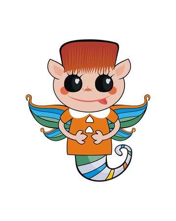 personage: elf-boy - personage