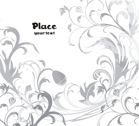 Flower background ready to place Your art or text Stock Vector - 16465228