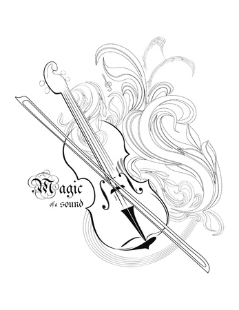 violas: magic of a sound - concept