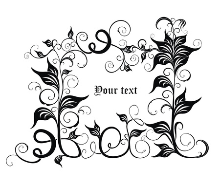 ornate background Stock Vector - 18393655