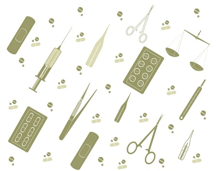 Medicine tools Stock Vector - 18586371