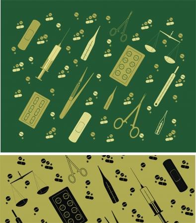 Medicine tools Stock Vector - 18586374