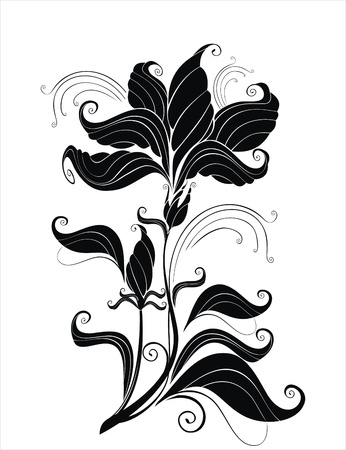 flowerhead: vector abstract flower Illustration