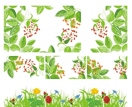 flowerhead: time of blossom - vector set