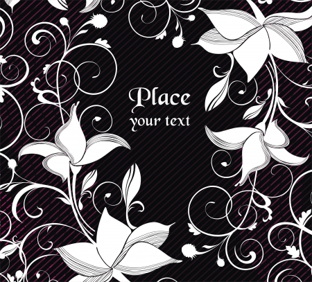 flowerhead: flower background  ready to place your art or text