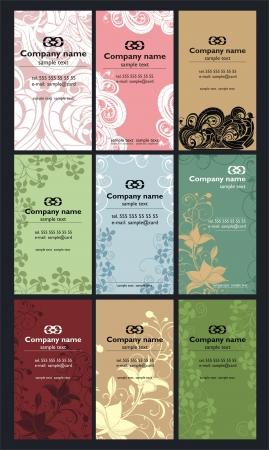 business card design Stock Vector - 20309528