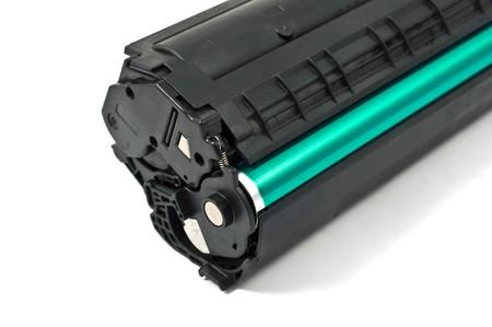 cartridge on white background photo