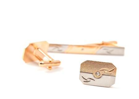 cufflinks: cufflinks on a white background