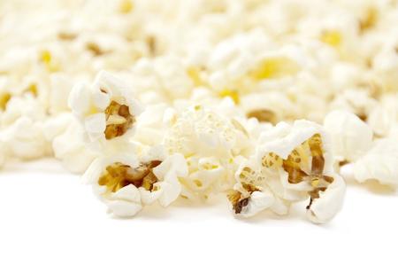 popcorn on white background Stock Photo - 9261938
