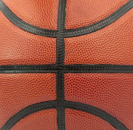 black leather: Basketball background, texture of a basketball
