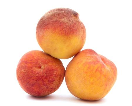 peach on a white background Stock Photo - 9982835