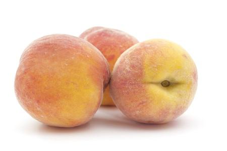 yellows: peach on a white background