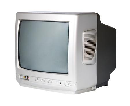 GREY TV on a white background photo