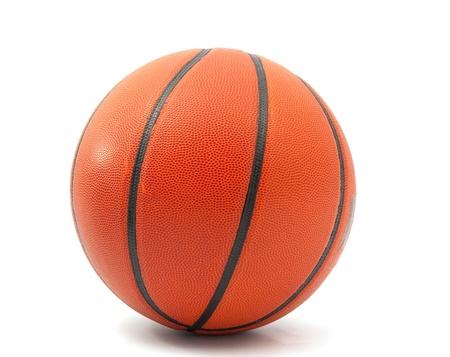 basketball ball on a white background photo