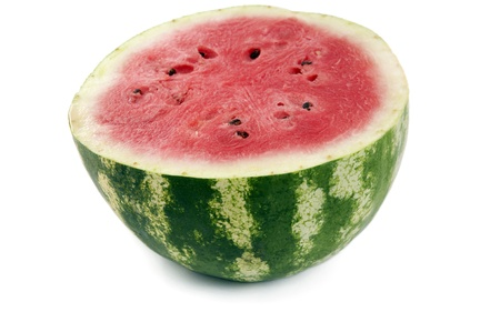 watermelon red on a white background Imagens