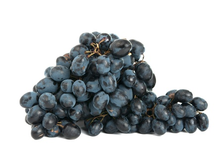 grapes isolated on white background photo