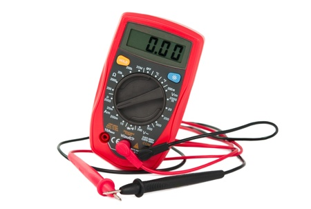 capacitance: capacitance meters on a white background