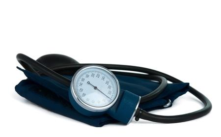 tonometer on a white background Stock Photo - 12861554