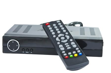 Digital TV auf weißem Hintergrund