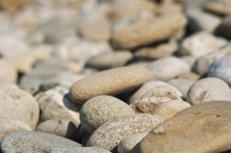 Pebble stone abstract background photo