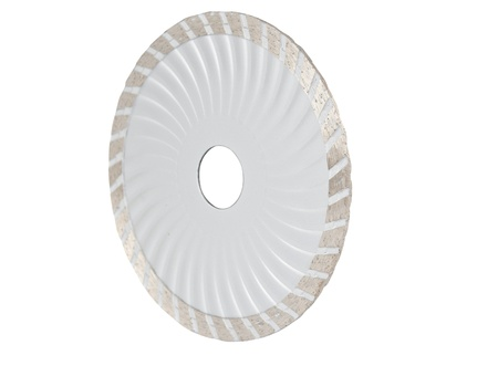 tine: discs for cutting of tile on a white background Stock Photo
