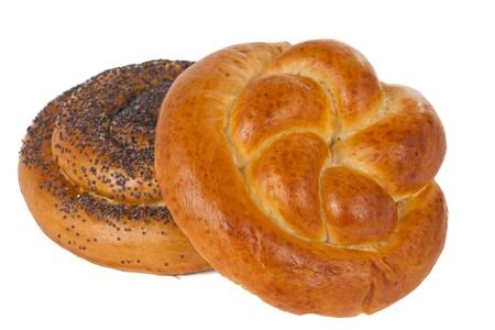 pasty:  pasty isolated on white background Stock Photo