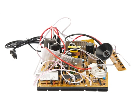 Placa de circuito impreso-It se fotograf�a Foto de archivo - 15563417