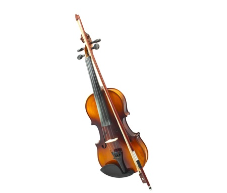 violin isolated on white background Stock Photo - 15657388
