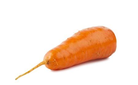 Carrots isolated on white background Stock Photo - 16004296