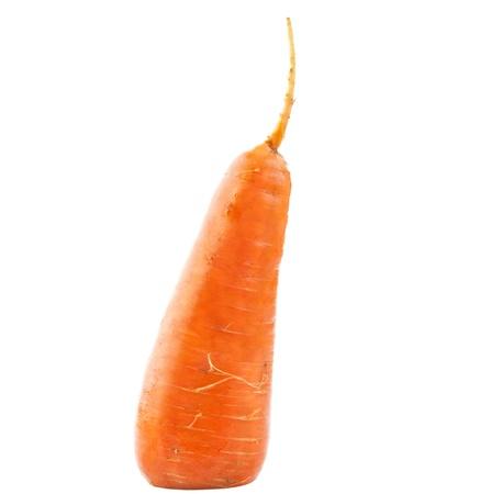 Carrots isolated on white background Stock Photo - 16004311