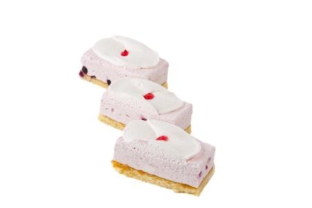 Cake isolated in white background Stock Photo - 16126114