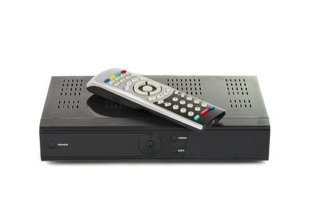 hard component: Digital TV on white background