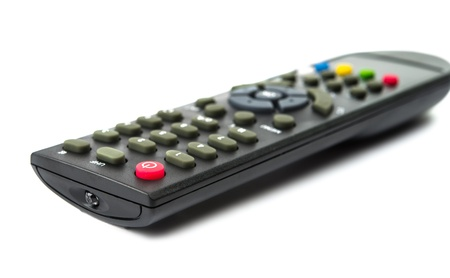 remote controls: remote controls on the white background