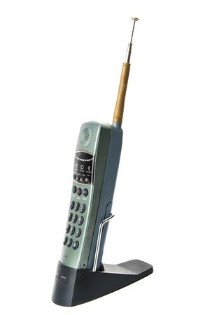 cordless telephone on a white background Stock Photo - 18228593