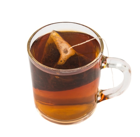 cup of tea isolated on white background Stock Photo