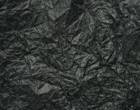 crinkles: Crumpled Black Paper for background