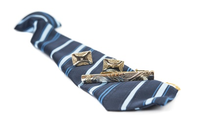 children's wear: mens necktie isolated on white background