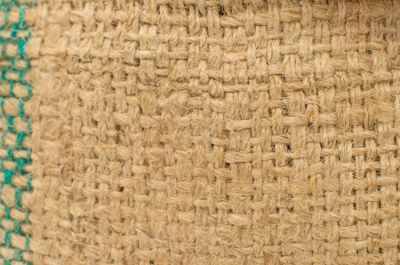 a sackcloth textured background, macro Stock Photo - 25017836