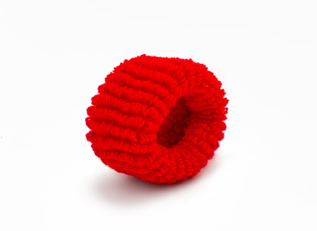scrunchy: scrunchy isolated on white background