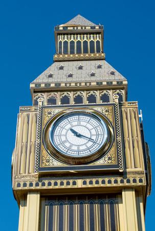 Model of Big Ben tower photo